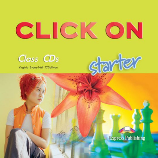 Click On Starter - Class CDs (Set 2 CD-uri)
