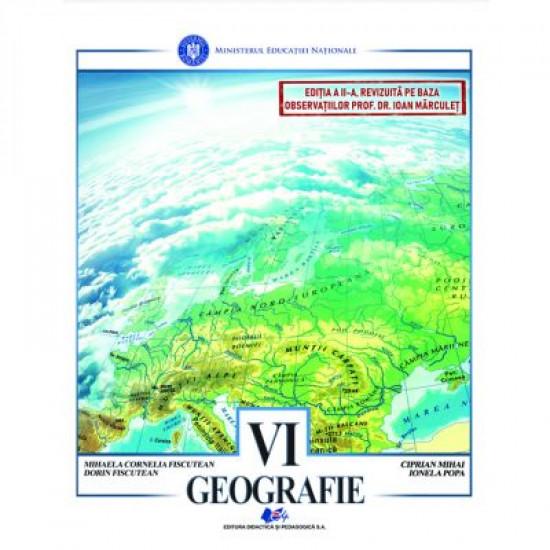 Geografie. Manual Clasa a 6-a (Fiscutean)