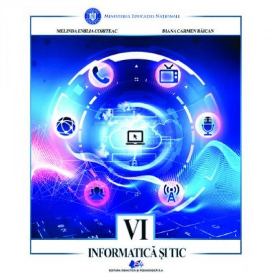Informatica & TIC. Manual Clasa a 6-a (Coriteac)